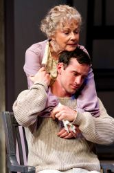 Helen Carey as Mary Tyrone and Nathan Darrow as Edmund Tyrone