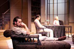 Andy Bean as James Tyrone, Jr., Nathan Darrow as Edmund Tyrone and Helen Carey as Mary Tyrone