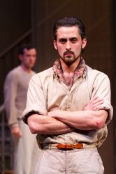 Andy Bean as James Tyrone, Jr., with Nathan Darrow as Edmund Tyrone