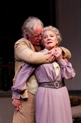 Peter Michael Goetz as James Tyrone, Sr. and Helen Carey as Mary Tyrone