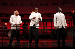 Larry Marshall as Monroe, Cleavant Derricks as Sylvester and Warner Miller as Cephas