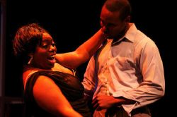 Shawnee Louise Coleman-Lining (Effie White) and Jivon Lee Jackson (Curtis Taylor Jr)