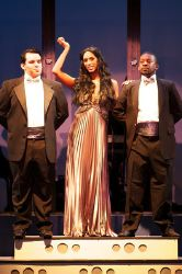 'Vegas' featuring Kimberly Braswell (Deena Jones); pictured with PJ Mitchell and Willie Garner