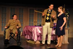 Gabriel Potter (Freddy), Bill Brown (Lawrence), Stephanie Miller (Christine)