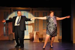 Micky Goldstein (Andre) and Mary McConnell (Muriel) in 'Like Zis, Like Zat'