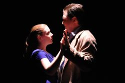 Stephanie Miller (Christine) and Bill Brown (Lawrence) in 'The More We Dance'