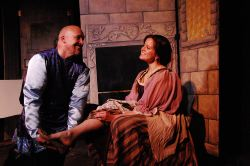The Prince (Scott Heine) and Cinderella (Corinne Shumaker)
