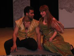 Pippin (Ben Harris) and Catherine (Jen Retterer)