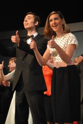 Daxx Weisner and Shannon Michelson as Finch and Rosemary