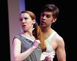 Heather Benjamin (Lesley Rosen) and James Myers (Warren Ives)