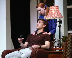 James Myers (Warren Ives) and Heather Benjamin (Lesley Rosen)