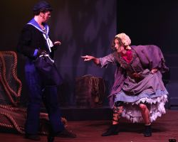 Will Hawkins (Anthony) and Sharon Grant (Beggar Woman)