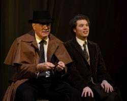 Elliott Bales (The Actor) and Erik Harrison (Arthur Kipps)