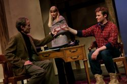 Dan Eddy as Sydney Bruhl, Laura Peterson as Myra Bruhl, Will Spilman as Clifford Anderson