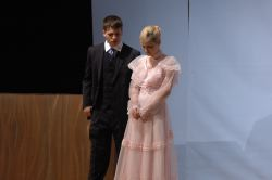 Lord Windermere (Michael Hibbs) & Lady Windermere (Shannon Kitchen)
