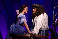 Emily Behny as Belle and Dane Agostinis as Beast