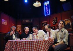 David James as Al, Craig Geoffrion as Ziggy, John Coscia as Gene, Bobby Welsh as Jonesy and Ari Post as Clifford