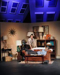 Ari Post as Clifford Glimmer and John Coscia as Gene Glimmer