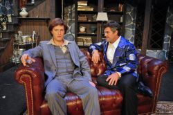 Derek Bradley as Milo Tindle and Mike Donahue as Andrew Wyke
