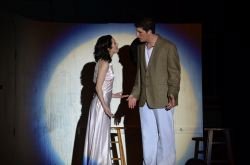 Hope (Natalie Martell) and Billy (Daniel Delaney)