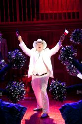 Dan Manning dances 'The Sidestep' as the Texan governor