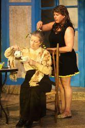 Patricia Kratzer (Mrs. Graves), Natalie McManus (Lotty)