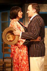 Sonia Motlagh (Lady Caroline), Jonathan Dyer (Frederick)