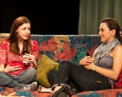 Caity Brown (Sara), Cara Duckworth (Callie)