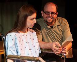 Caity Brown (Sara), Adam Adkins (Peter)