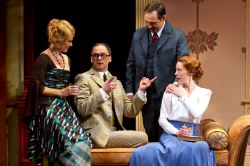 Caralyn Kozlowski as Alice Ford, Michael Mastro as Ford, Kurt Rhoads as Page and Veanne Cox as Margaret Page
