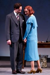 Baylen Thomas as Ned Darrell and Francesca Faridany as Nina Leeds