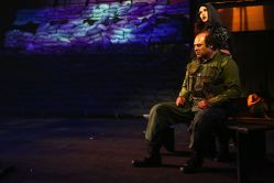 Irakli Kavsadze as Prisoner, Jodi Niehoff as Native Mother