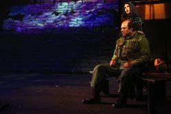 Irakli Kavsadze as Prisoner, Jodi Niehoff as Native Mother