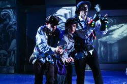 Pasquale Guiducci, Victoria Bertocci, and Ben Arden in 'A Trip to the Moon'