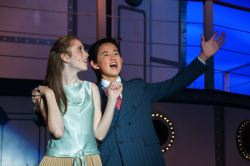 Jordan Abramowitz (as Hope Harcourt) and Bryan Eng (as Billy Crocker) perform 'It's Delovely'