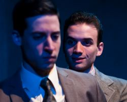 Alex Mandell as Richard Loeb and Stephen Russell Murray as Nathan Leopold