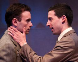 Stephen Russell Murray and Alex Mandell as Leopold and Loeb