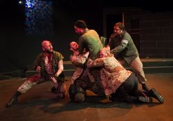 Frank Britton as Banquo, James Finley as Fleance, Joe Carlson as Macbeth, Will Hayes as Hecate, Matt Dewberry as Gruoch