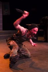 Joe Carlson as Macbeth