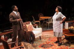 Malcolm-Jamal Warner as Dr. John Prentice and Lynda Gravatt as Matilda Binks