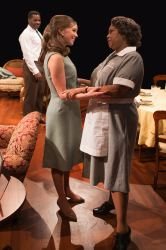 Bethany Anne Lind as Joanna Drayton and Lynda Gravatt as Matilda Binks, with Malcolm-Jamal Warner as Dr. John Prentice