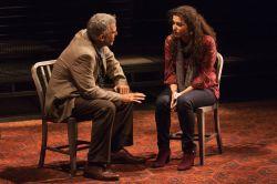 Joseph Kamal as Sayeed and Melis Aker as Roya