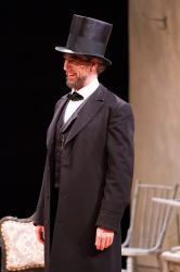 Thomas Adrian Simpson as Abraham Lincoln
