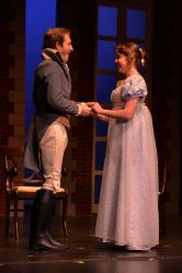 Grayson Owen (Mr. Bingley), Alyssa Bouma (Jane Bennet)