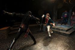 Danny Gavigan as Zorro, Andres Talero as Capitan Ramon