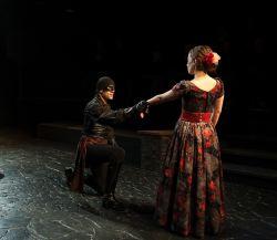 Danny Gavigan as Zorro, Stephanie LaVardera as Lolita Pulido