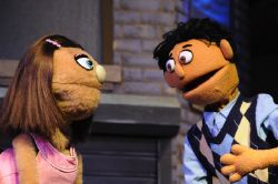 Heather Friedman (Kate Monster) and Devon Ross (Princeton)