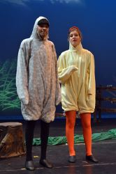 Tyler Lazzari as 'Ugly' and Emily Richter as 'Ida'