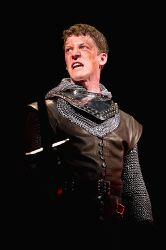 Zach Appelman stars as the young king, Henry V