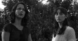 Amy Acker and Jillian Morgese